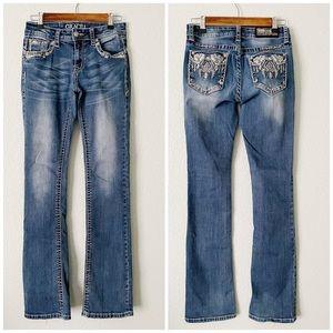 GRACE IN LA || Easy Fit Bootcut Jeans